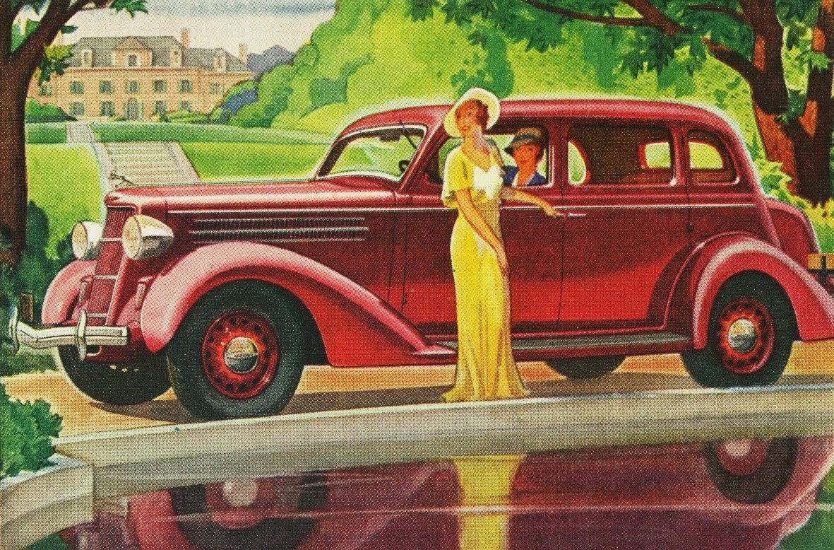 Old indonesian vehicles 1935 dodge touring sedan for 1935 dodge 4 door sedan