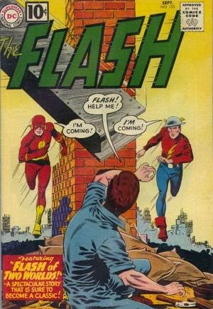 Flash #123 comic image