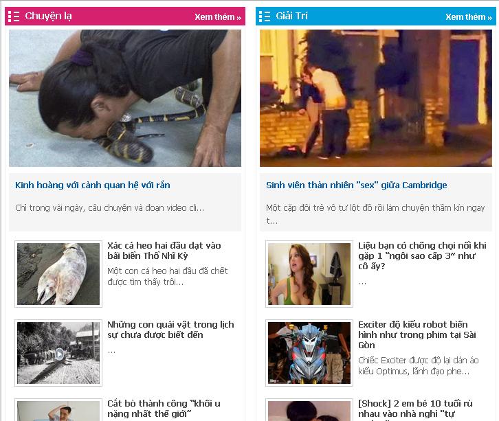 Template Blogspot tin tức cực đẹp