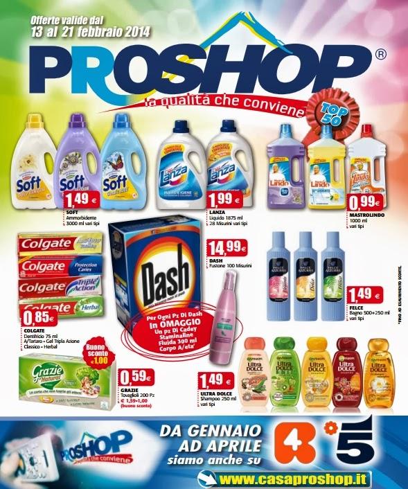 volantino - ProShop Offerte valide dal 13 al 21 Febbraio 2014 ...