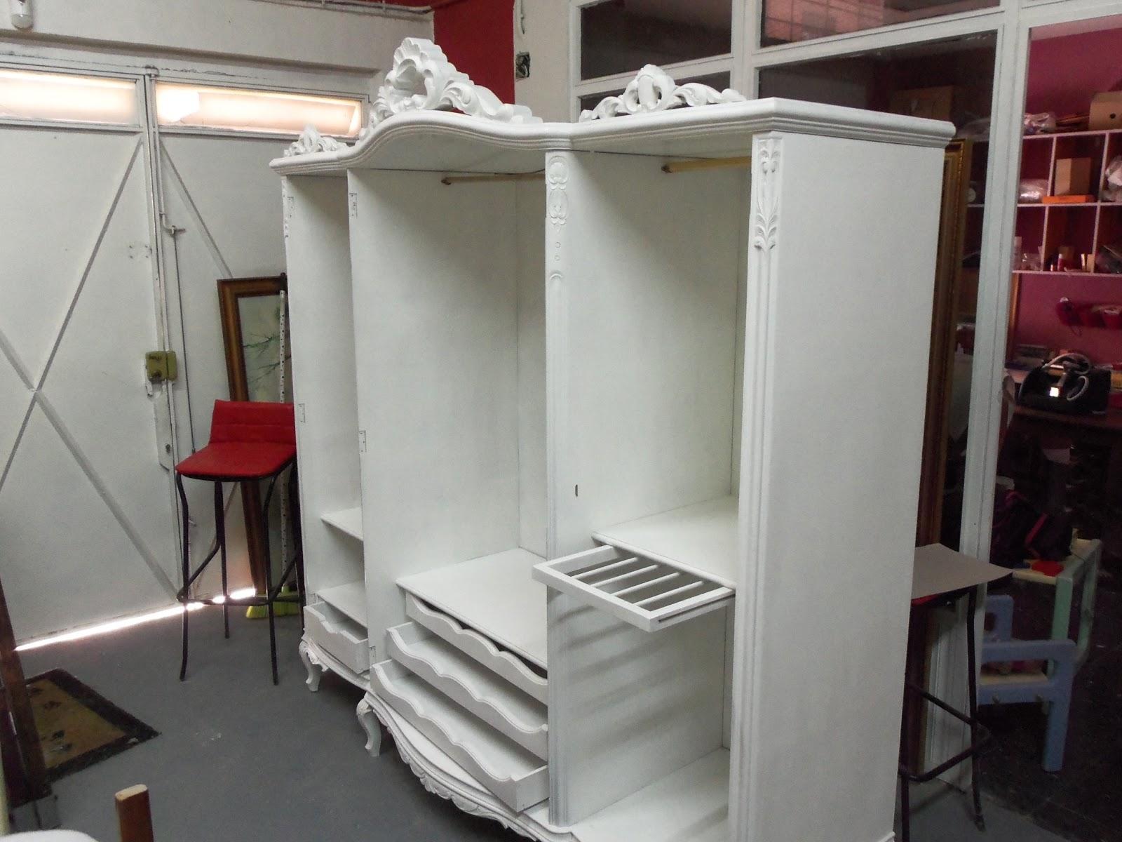 Armario Lavanderia Aereo ~ Deshaina com Otro armario vintage!éste de blanco total!
