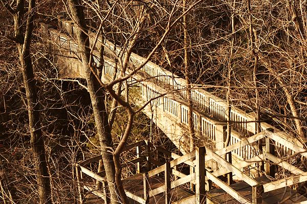Bridge Matthiessen State park