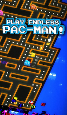 Pac-Man-256-Modern-Slick-Version-Of-CLassic-iOS-Android-Game-Screenshot-review