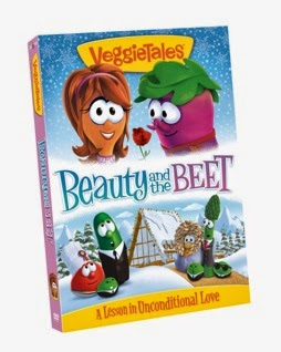 VeggieTales Beauty and the Beet cover