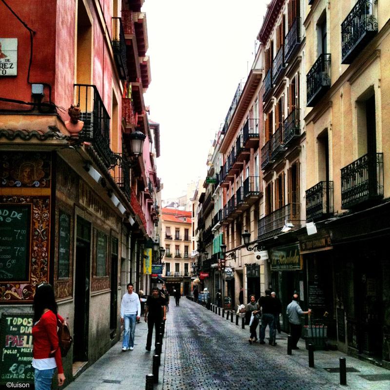 Luis n urban spaces espacio urbanos barrio de las for Calle prado 8 madrid