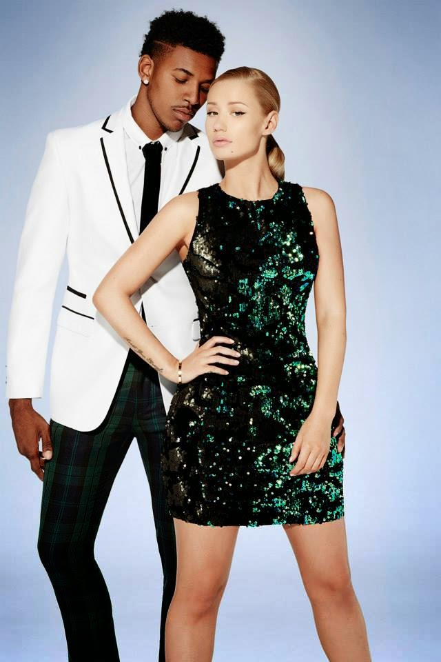 Forever 21 Holiday 2014 Lookbook featuring Iggy Azalea and Nick Young