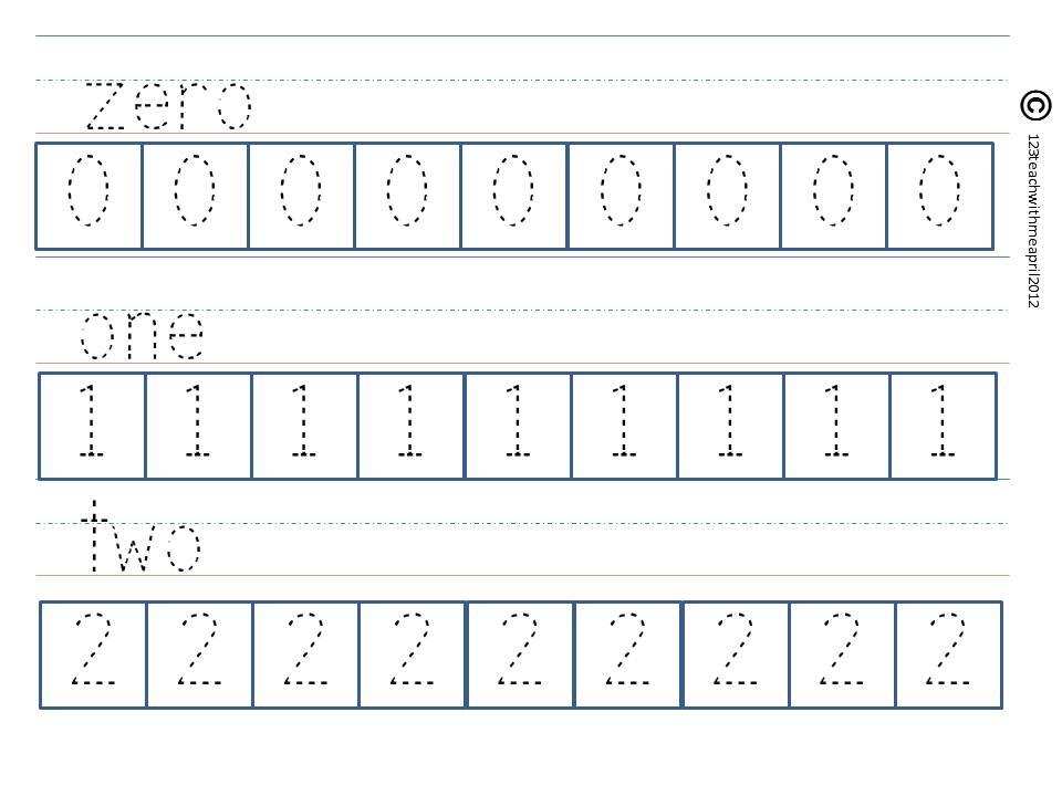 Teach With Me: Kindergarten Packet: K.CC.3 and K.CC.4 ...