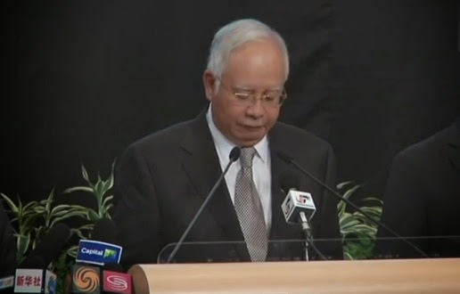 Flight MH370 crashed in Indian Ocean - Malaysian PM