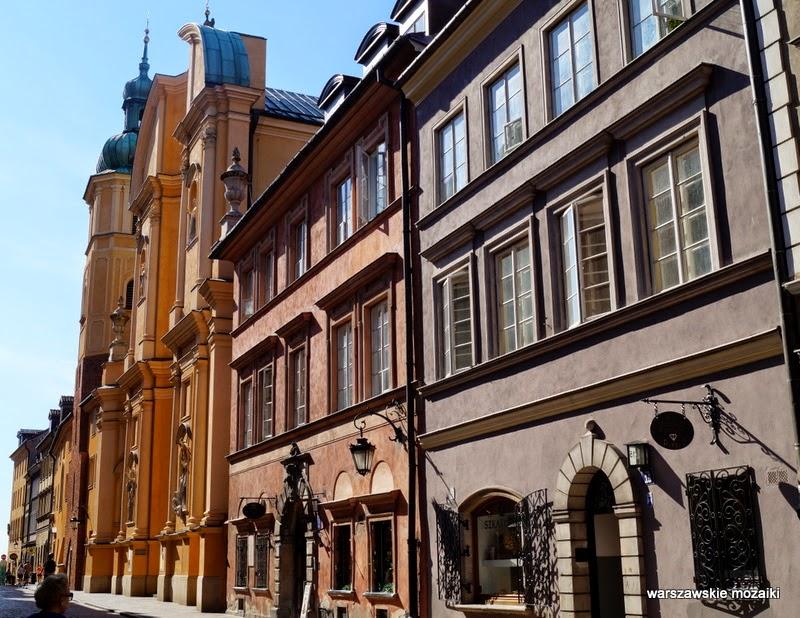 ulica Stare Miasto kamienice stolica kościół św. Marcina