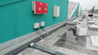 Solar Inverters - Junction Boxes - AC Box and Cable Rails