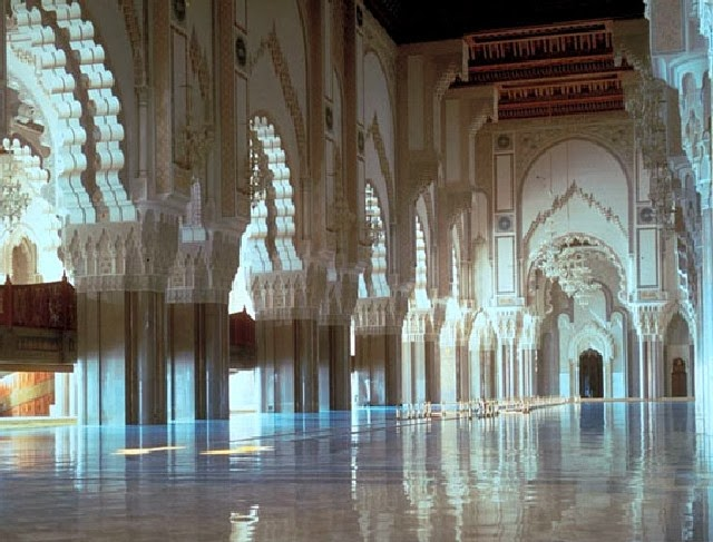 Hassan II mosque, largest mosque, morroco,