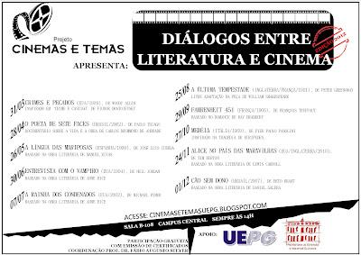 DIÁLOGOS ENTRE LITERATURA E CINEMA