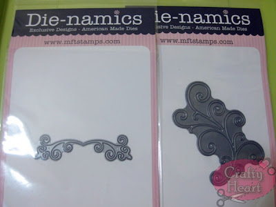MFT Die-namics dies - Vintage Flourish and Fancy Flourish