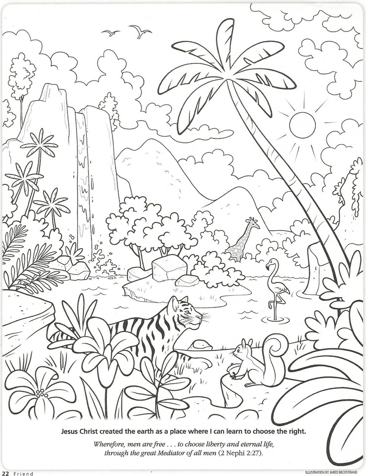coloring page from december 2008 friend pdf file page 13 here print only page 13 - Choose The Right Coloring Page