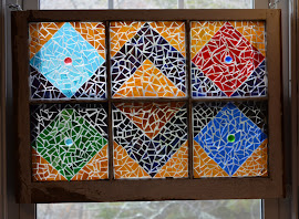 Glass quilt