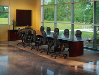 Mayline Napoli Large Conference Table