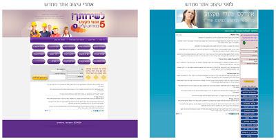עיצוב מחדש אתר אינטרנט