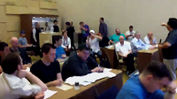 Daniel Negreanu shoots some video at draft for 2011 WSOP Fantasy League