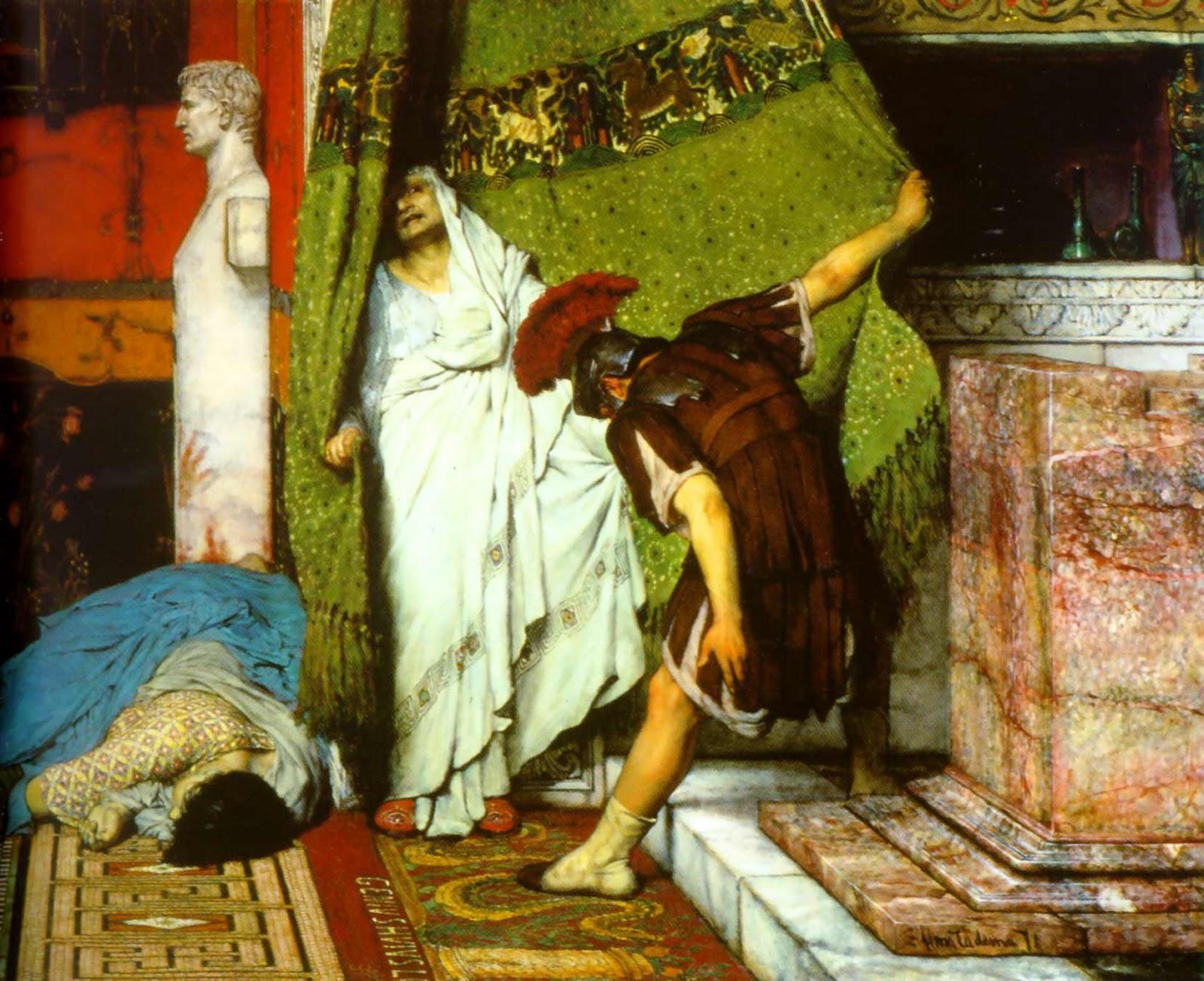 alma-tadema roman emperor