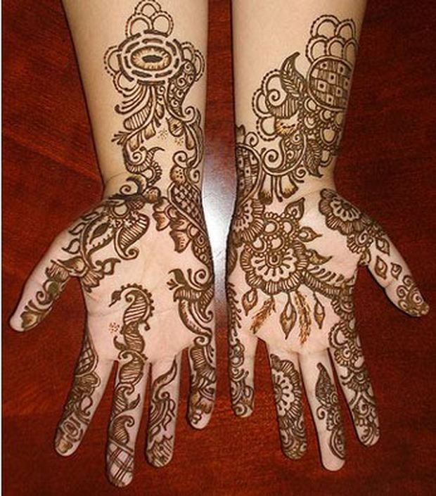 Learn Mehndi Patterns : Floral henna design learn to make flower with