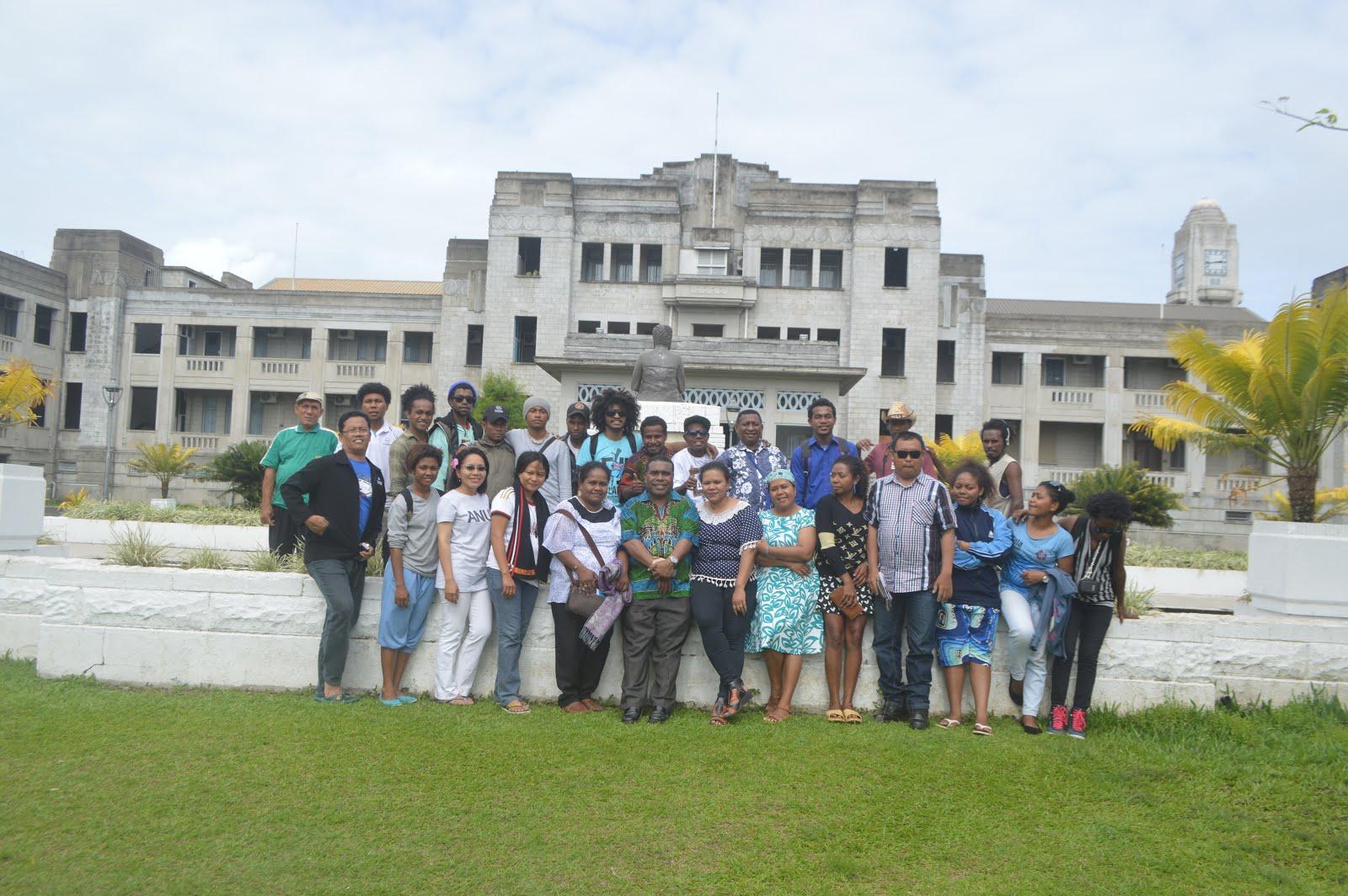 Kunjungan UNIPA ke FIJI 2014