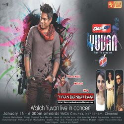Yuvan Concert Images/Wallpapers