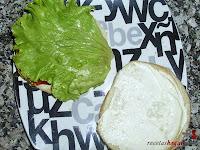 Hamburguesa Juicy Lucy-con lechuga