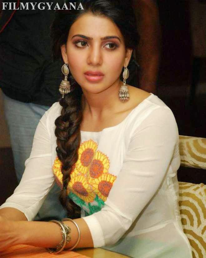 Samantha Ruth Prabhu Latest Wallpapers In White Dress ...