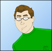 Cartoon Self Portrait 2. This is another cartoon self portrait I drew.