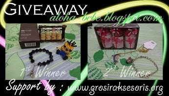 Join My Giveaway ft. Grosir Aksesoris Giveaway