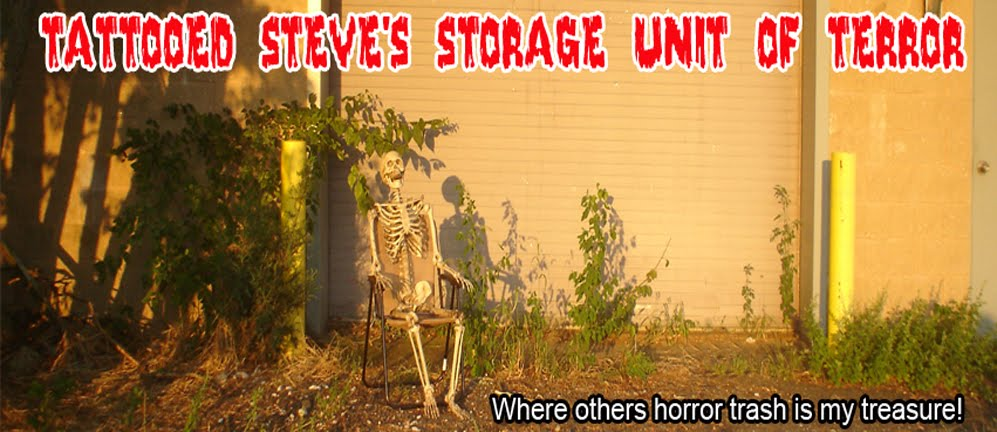 Tattooed Steve's Storage Unit of Terror