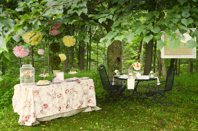 bridal shower tea party by www.bonhomieevents.com