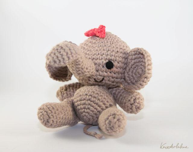 DIY Häkeln Elefant baby