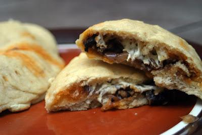 baked mushroom empanadas