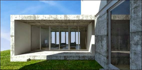 PORTUGAL HORIZONTAL HOUSES AN INDUSTRIAL EXTERIOR DESIGN