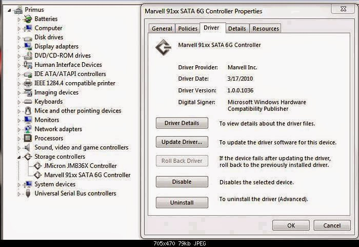 MARVELL 61XX RAID CONTROLLER DRIVER DOWNLOAD