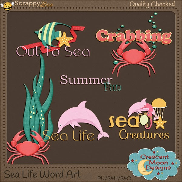 Sea Life by Crescent Moon Designs