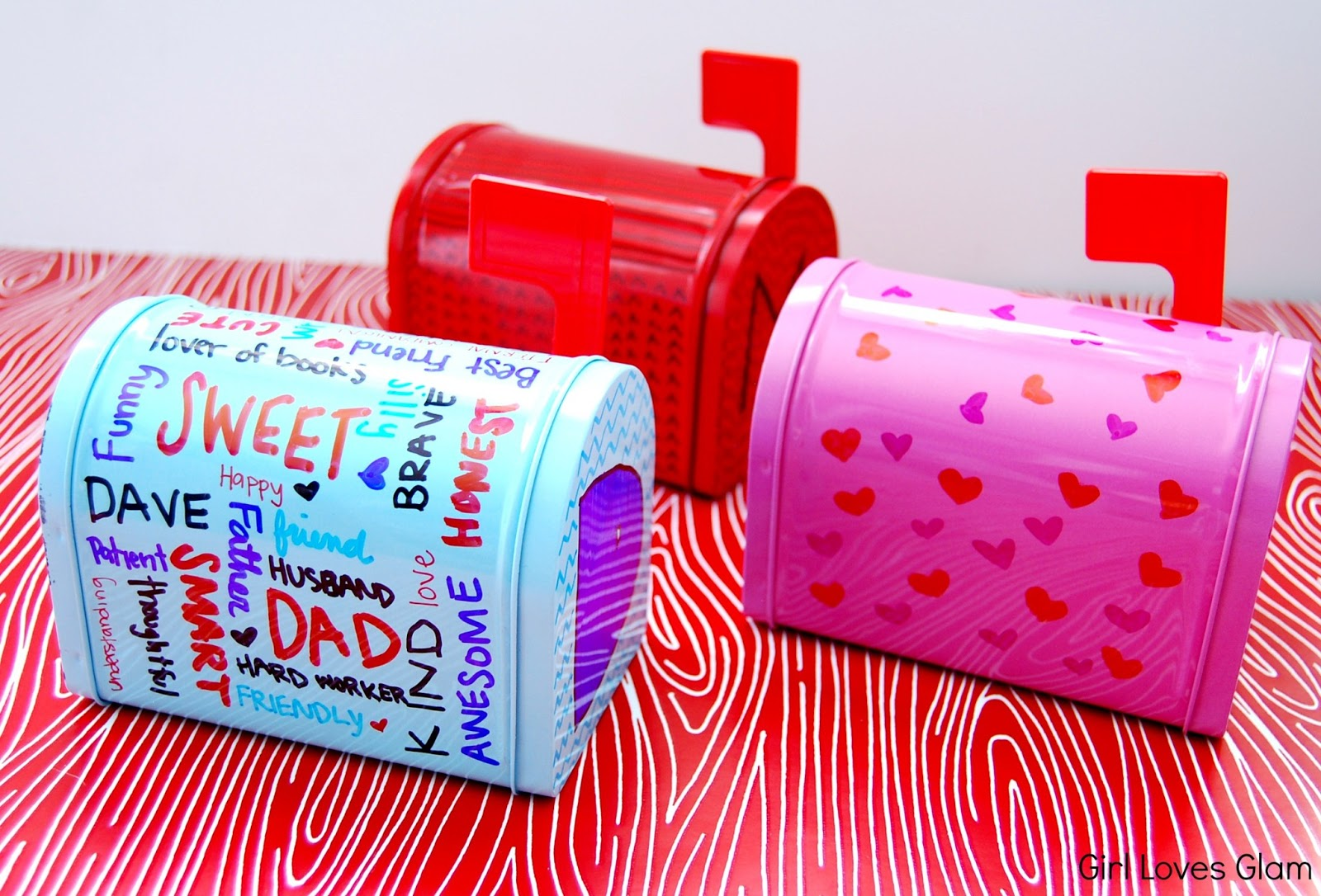 Photography archives girl loves glam sharpie decorated valentine mailboxes solutioingenieria Images
