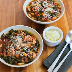 ... Cooker Cannellini Bean Stew with Tomatoes, Italian Sausage, and Kale