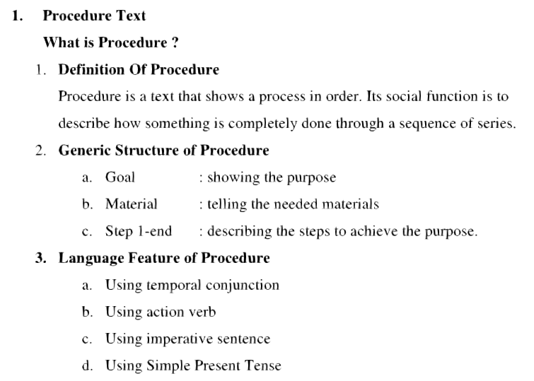 Learn About Contoh Procedure Text How Make Eating And Drinking