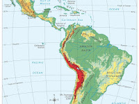 Map Of Latin America Physical