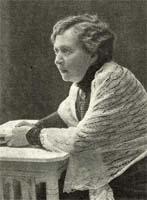 Hilma Angered-Strandberg, Foto: J. Hammarstrand, Falköping, aus Idun Nr. 20, 1912