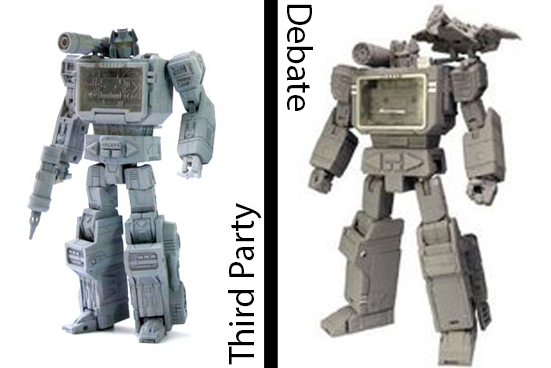 custom toys and action figures 3rd party transforming toy debate