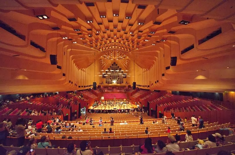 Seating plan of sydney opera house