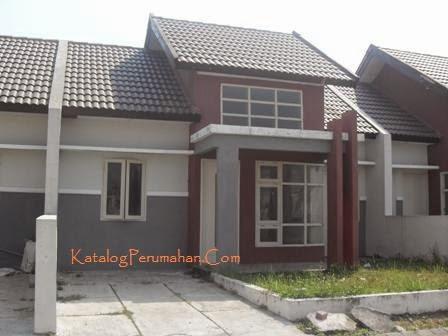 Contoh rumah type 45 Mandiri Residence