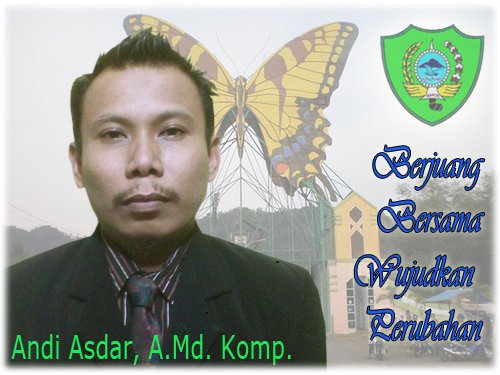 Andi Asdar, A. Md. komp