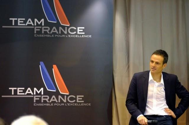 Franck Cammas et Team France, challenger officiel de la Coupe de l'America.