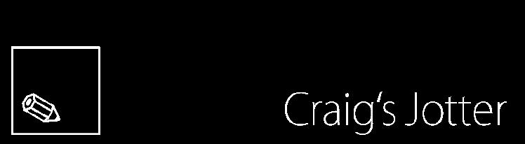 Craig's Jotter