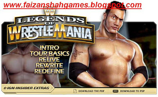 Wwe legends of wrestlemania characters