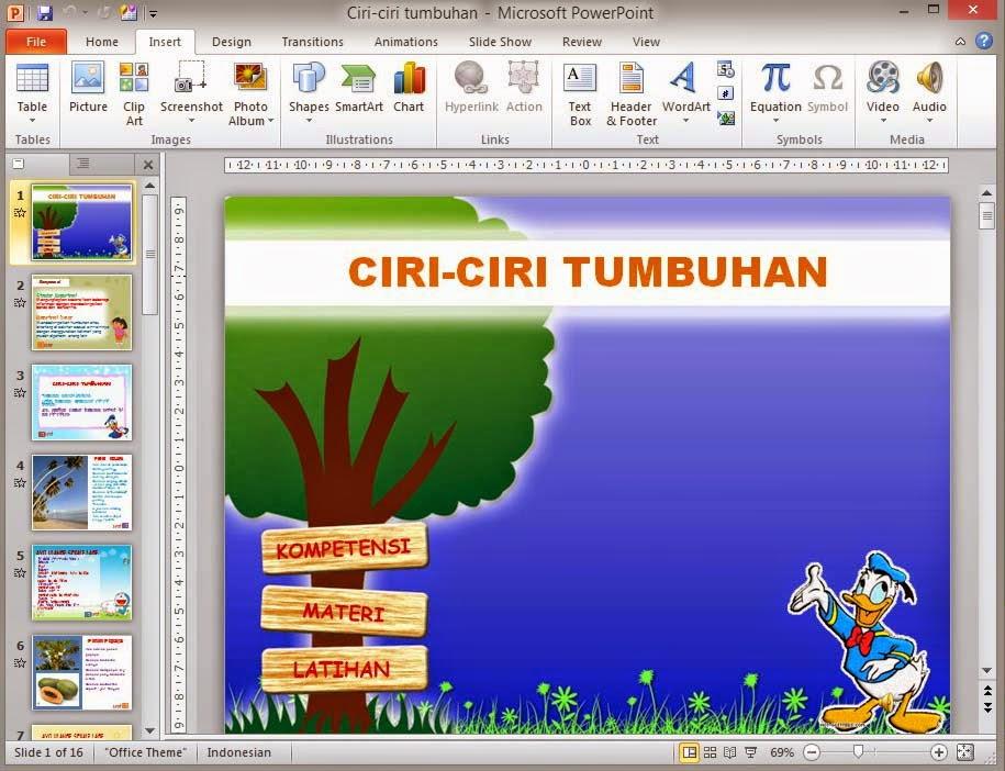 Dunia Office: Cara Membuat Hyperlink Pada Microsoft Power